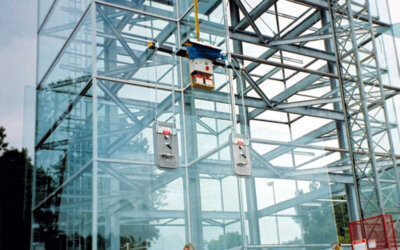 Transport paneli szklanych
