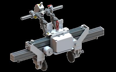 Chwytak do transportu bloków betonowych