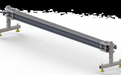Wsporniki odkładcze do chwytaków wielkogabarytowych